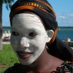 White faced traditional Makua Ibo