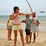 Beach archery
